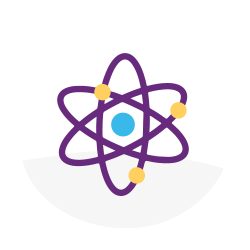 atom, logo, mad science